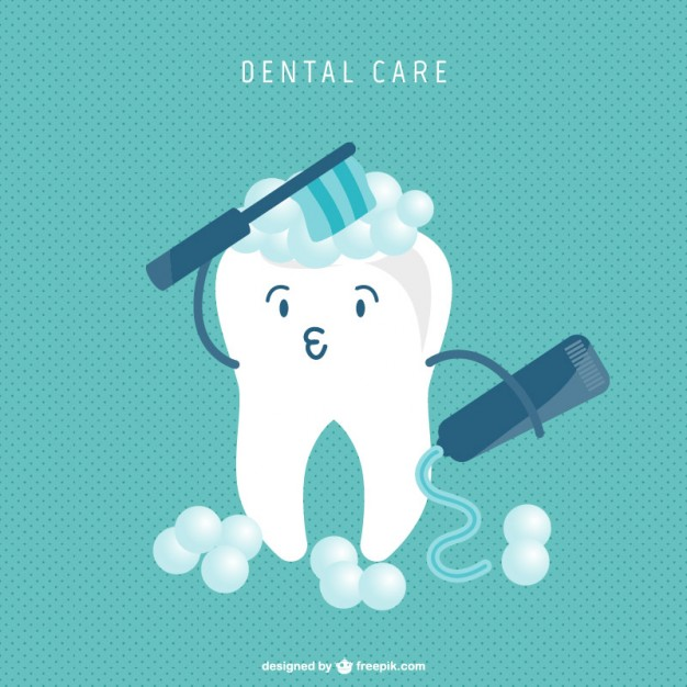 tooth cartoon cleaning concept 23 2147495044